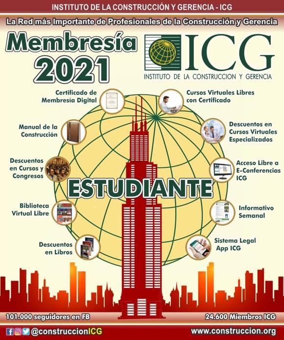 Membresía 2021 - Estudiante