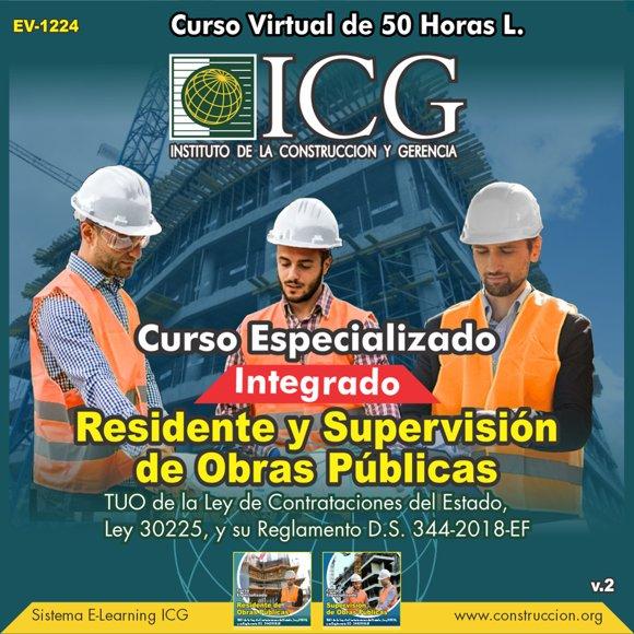 Residente y Supervisión de Obras Públicas