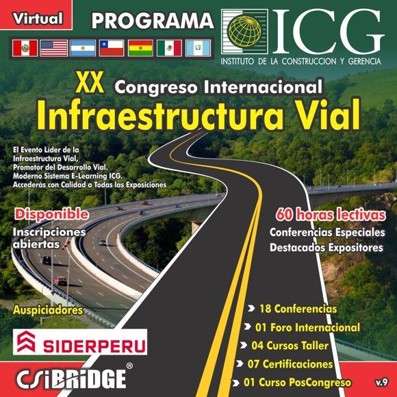 XX Congreso Internacional Infraestructura Vial 2021