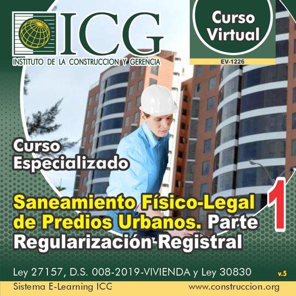 Saneamiento Físico-Legal de Predios Urbanos. Parte 1.