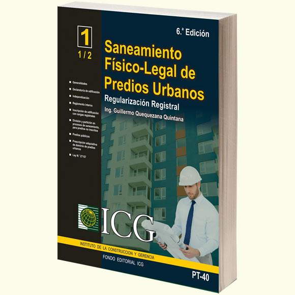 Saneamiento Físico-Legal de Predios Urbanos. Regularización Registral - 6.a