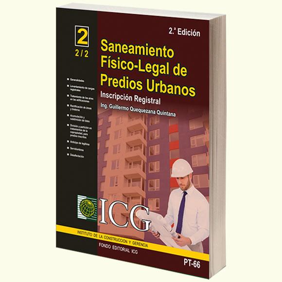 Saneamiento Físico-Legal de Predios Urbanos. Inscripción Registral - 2.a